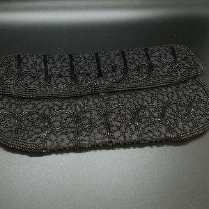Walborg beaded hand bag